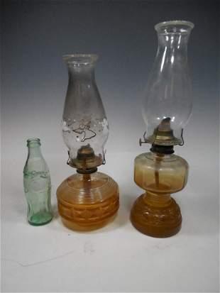 Dresden Ohio Coca-Cola Bottle PLUS Lamps