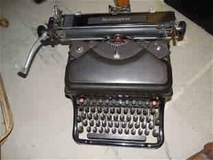 Antique Sleek Remington Typewriter