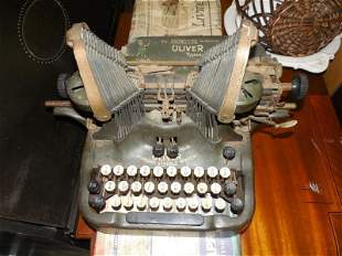 Rare Oliver Typewriter Standard Visible