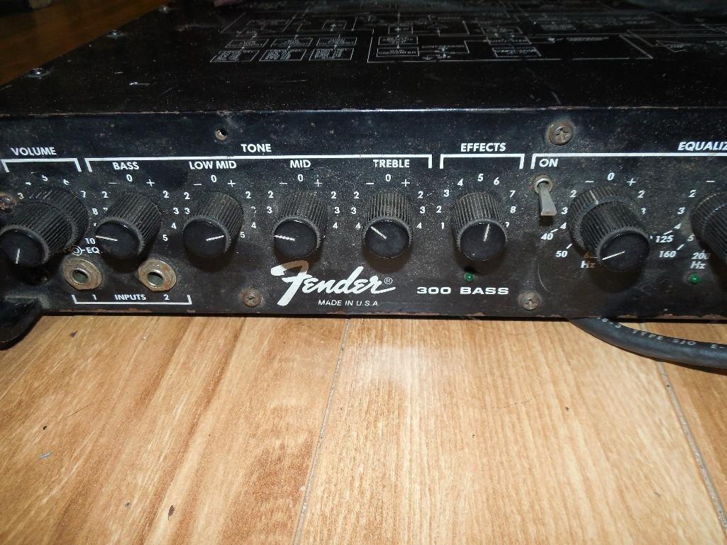 fender 300 bass rack amp