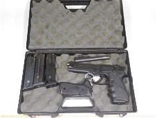 Beretta 92FS 9mm Pistol w/Barrel Mags Case etc