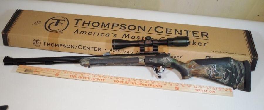 Thompson Bone Collector Rifle Craig Morgan Signed
