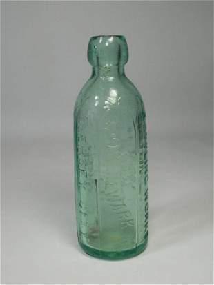Antique Glass Excelsior Bottle Blob Top Nice