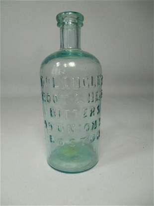 Antique Glass Bottle Dr. Langley Bitters Boston