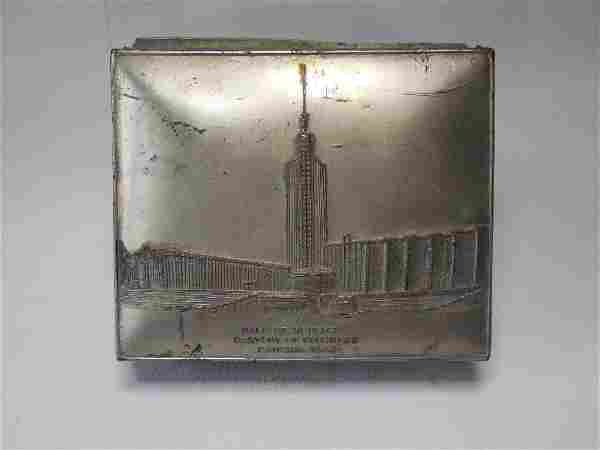 Century of Progress 1933 Cigarette Box
