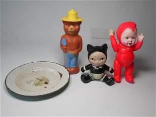 Group Lot Antique Toys Inc. Celluloid