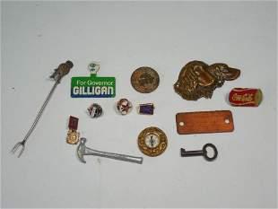 Group Lot Antique Vintage Smalls Inc. Silver