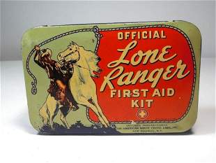 Lone Ranger First Aid Kit w/Contents