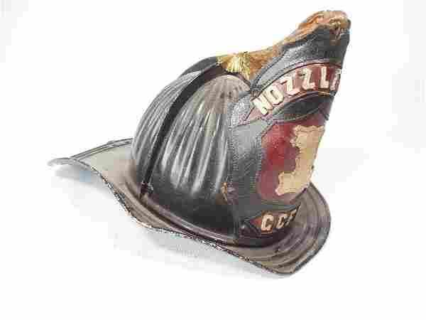Nozzle Man Fire Department Helmet High Eagle