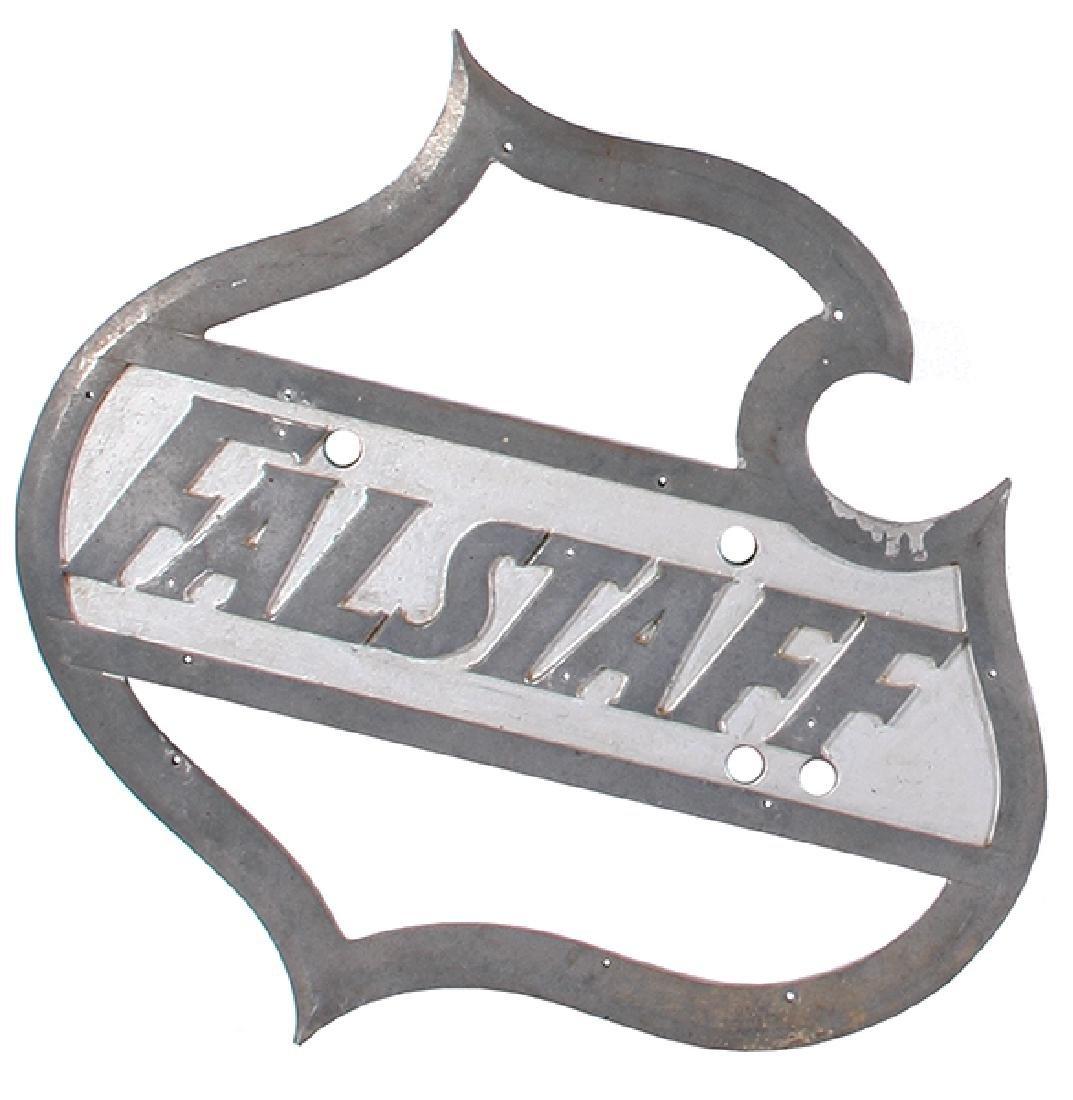 Falstaff Brewery Aluminum sign