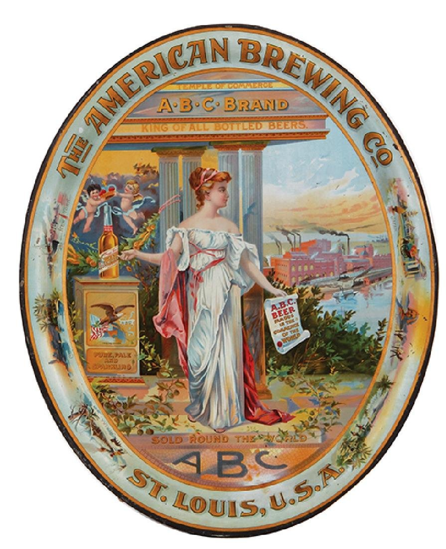 American Brewing Co., St. Louis, U.S.A. tray