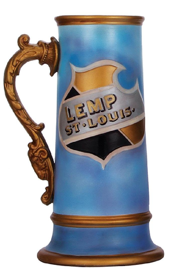 Pottery stein, Lemp Brewing - 2