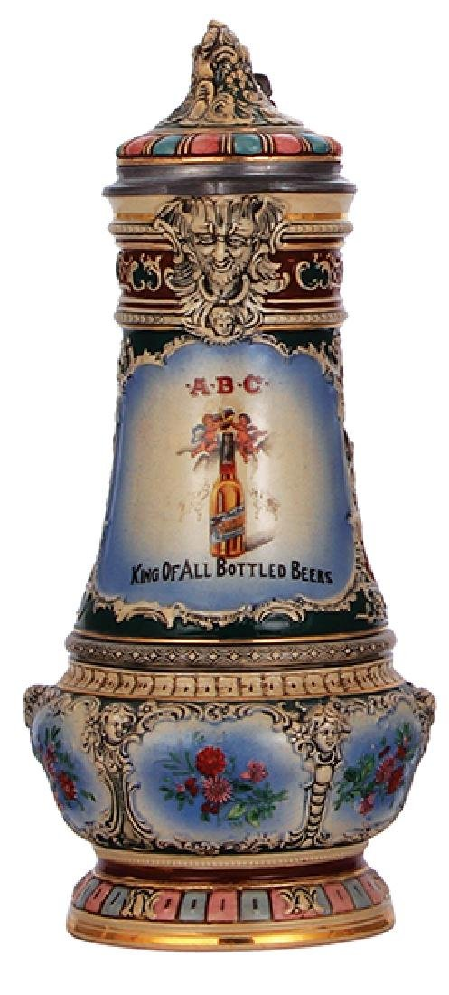 Pottery stein, A.B.C. Brewing