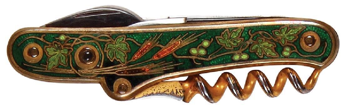 Anheuser-Busch enameled pocket knife - 2