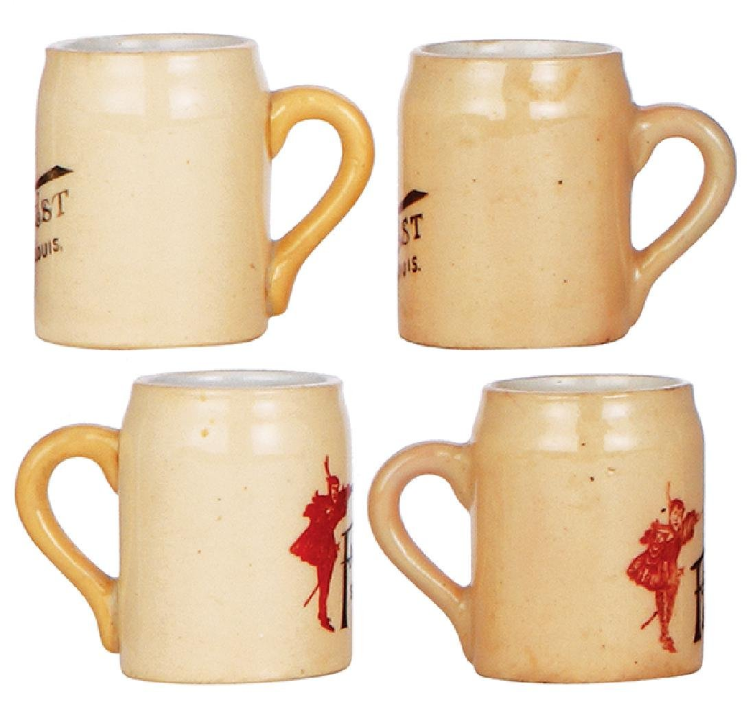 Two pottery mugs, Faust - 2
