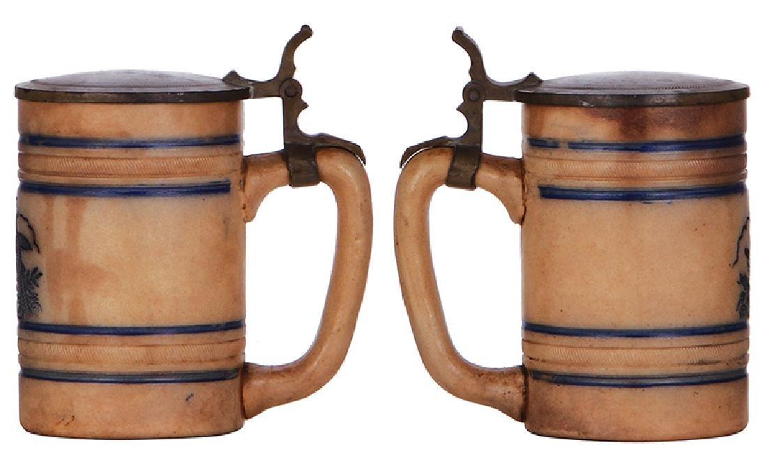 Two Stoneware steins, Anheuser-Busch - 3