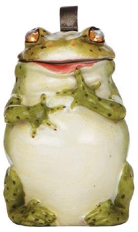 Character stein, Frog