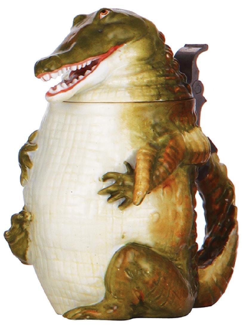 Character stein, Alligator
