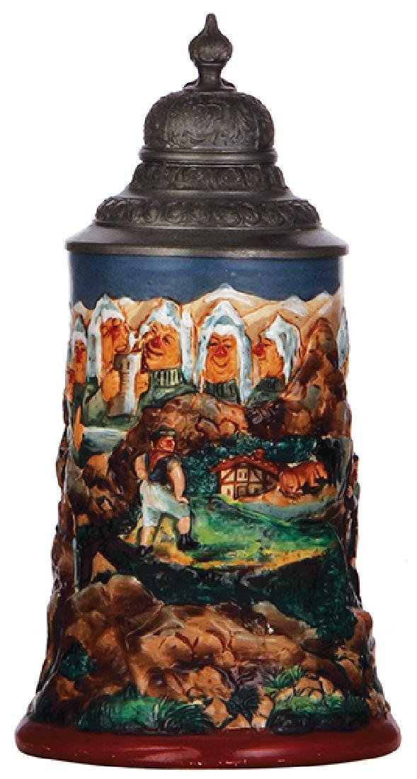 Pottery stein, Walensee