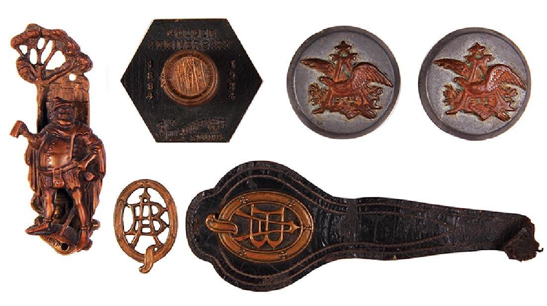 Six Anheuser-Busch items