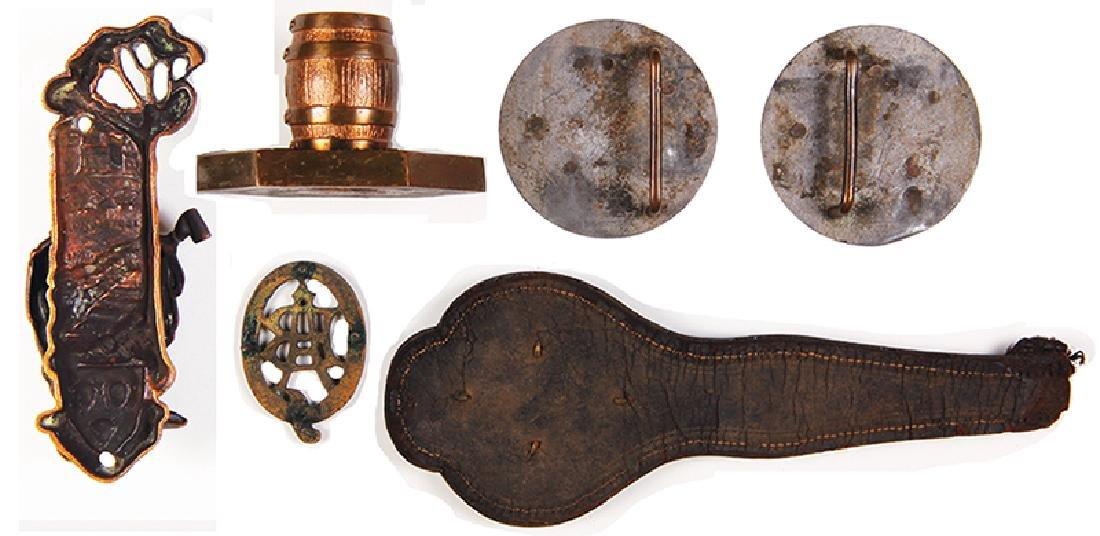 Six Anheuser-Busch items - 2