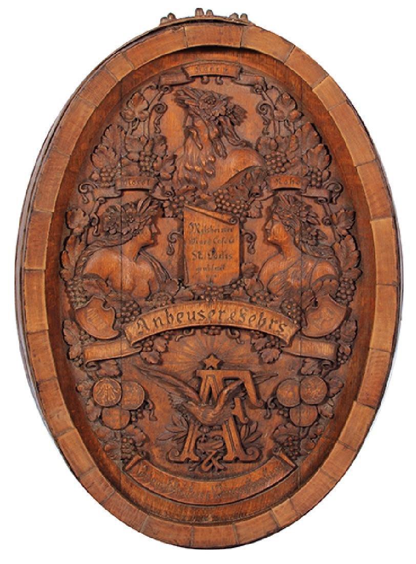 Anheuser & Fehrs Wood Barrel