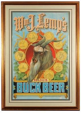 Wm. J. Lemp, St. Louis Lithograph