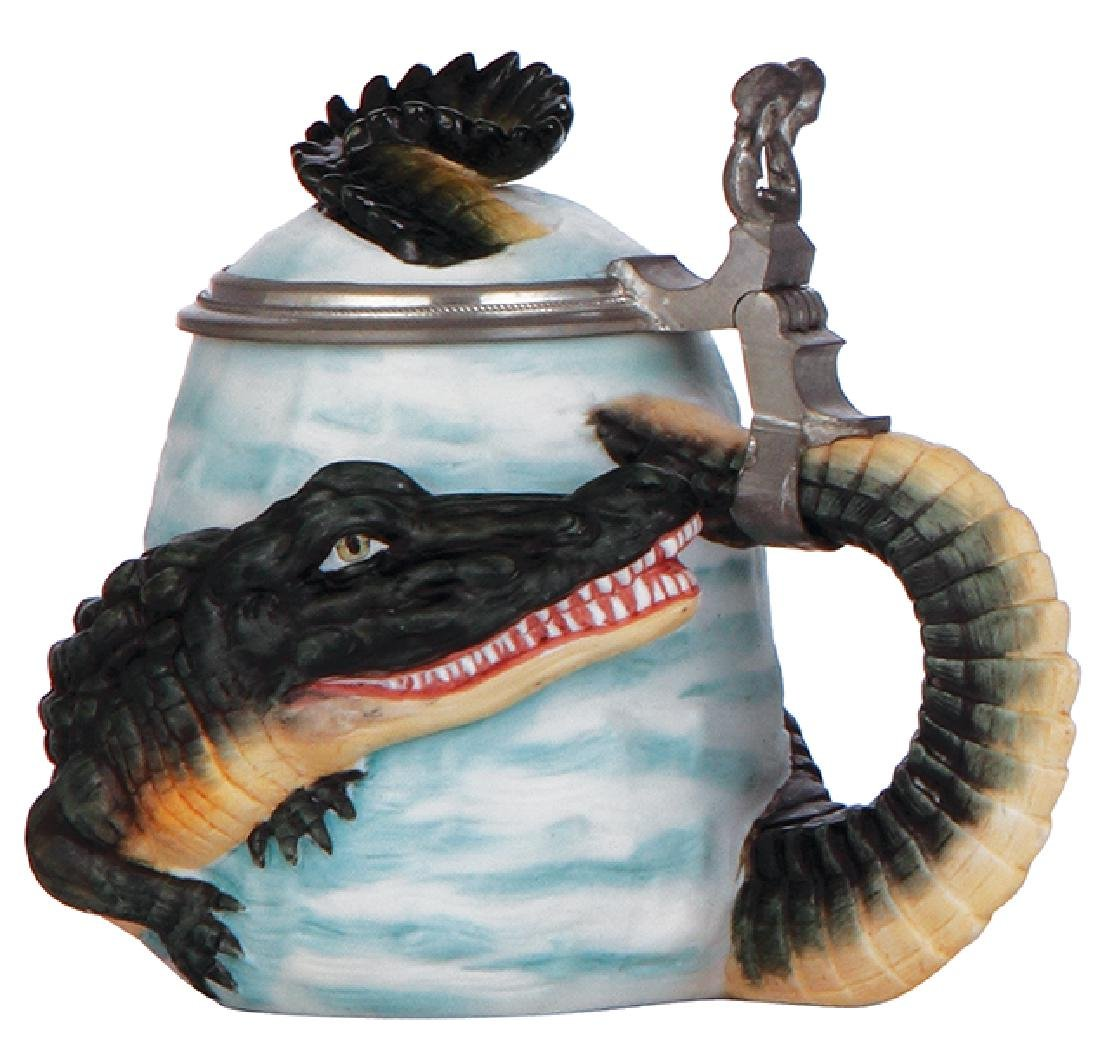 Character stein, Alligator