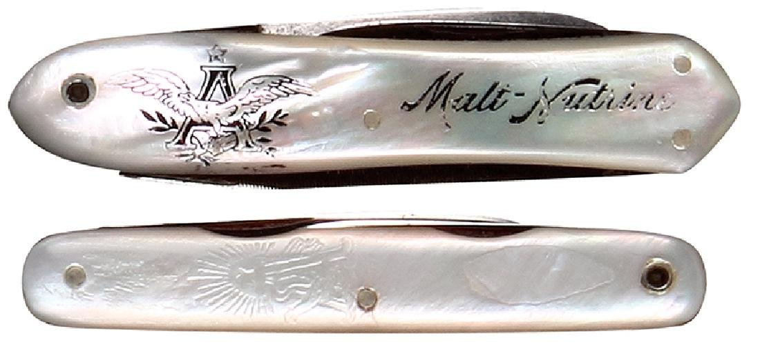 Two Anheuser-Busch pocket knives - 2