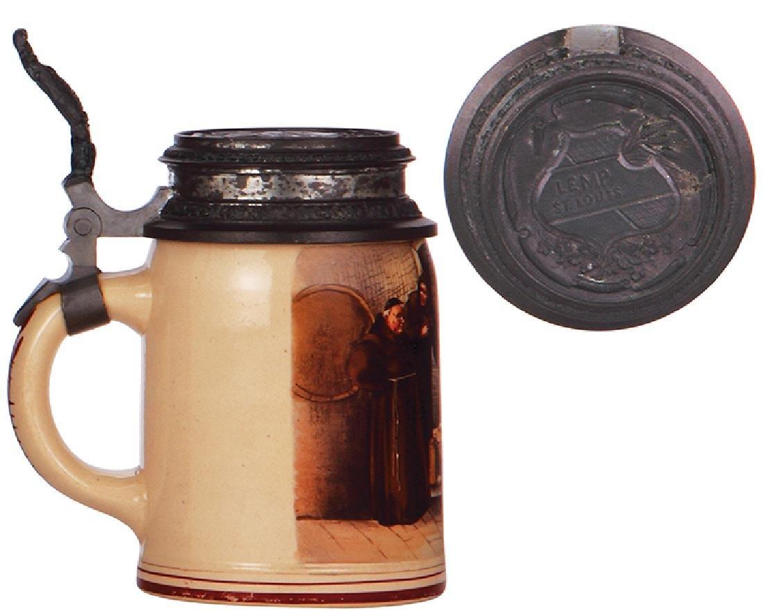 Stoneware stein, Lemp Brewing - 3
