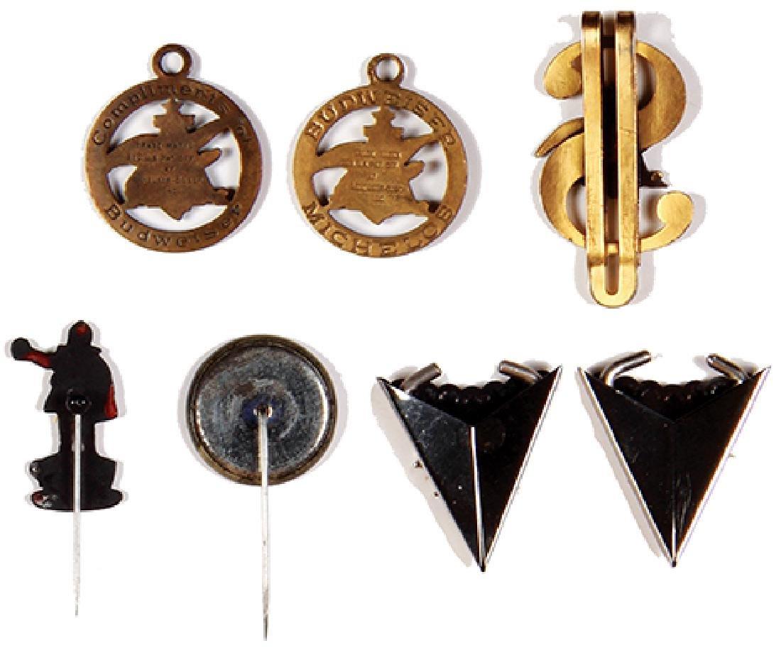 Seven Anheuser-Busch & Faust items - 2
