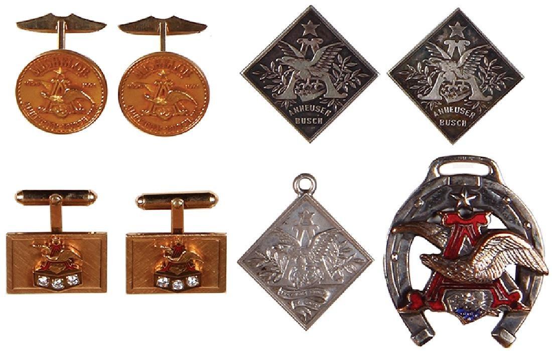Eight Anheuser-Busch items