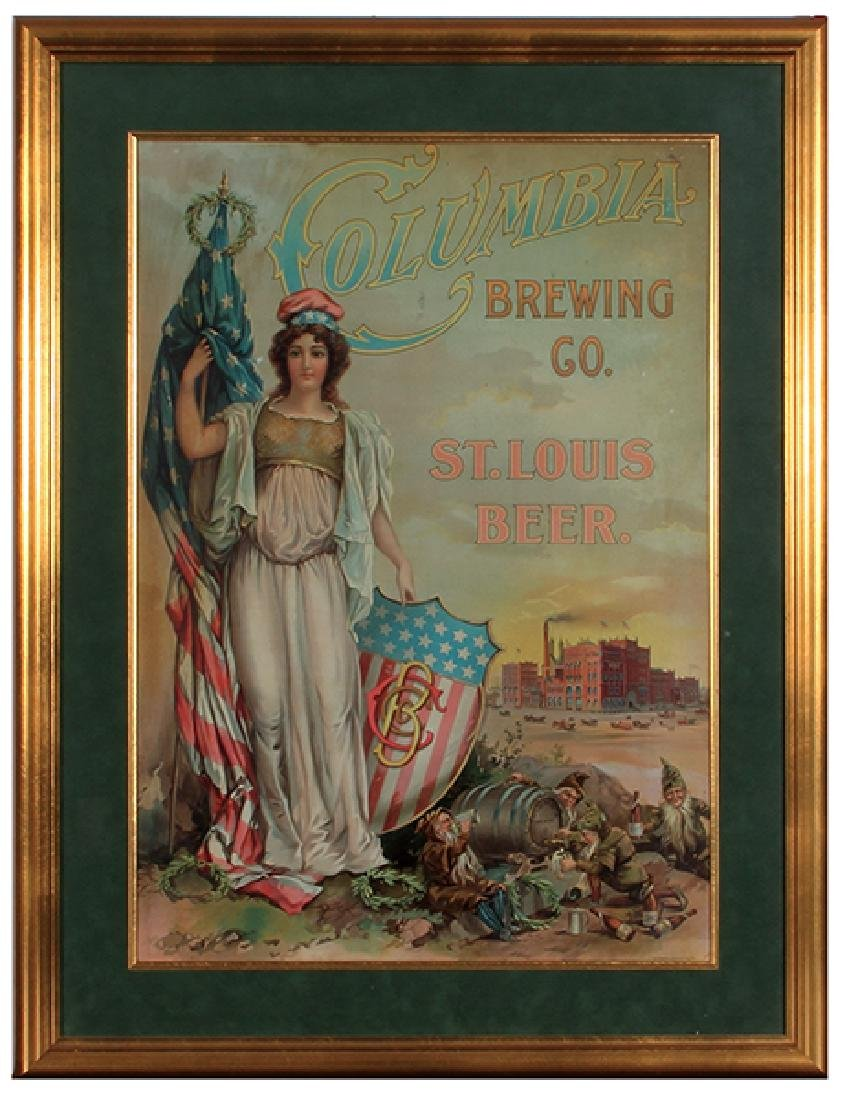 Columbia Brewing Co., Lithograph