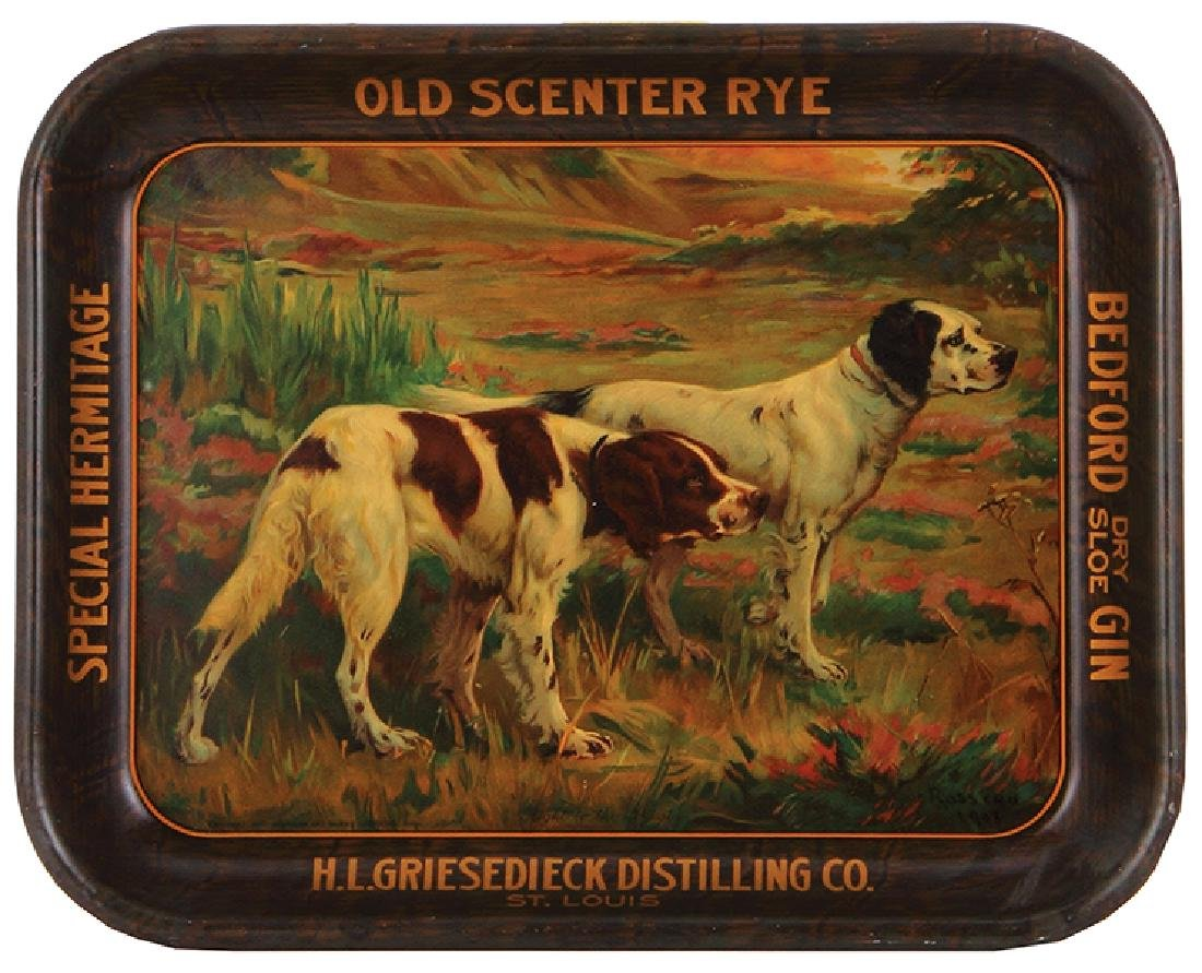 H.L. Griesedieck Distilling Co. tray