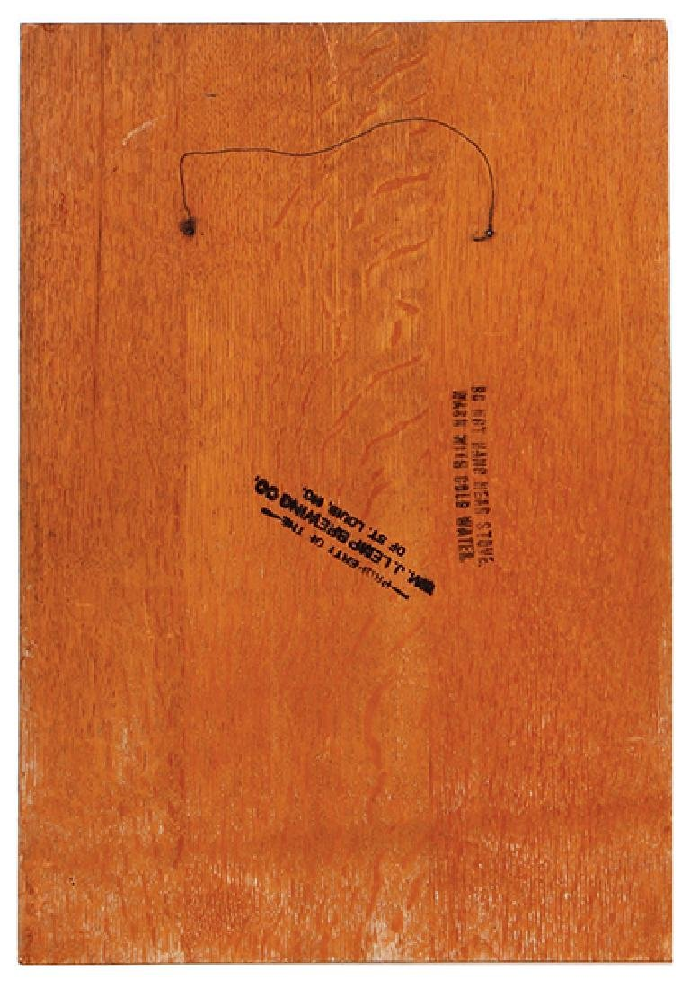 Lemp's Bottled Beer lithograph on wood - 2