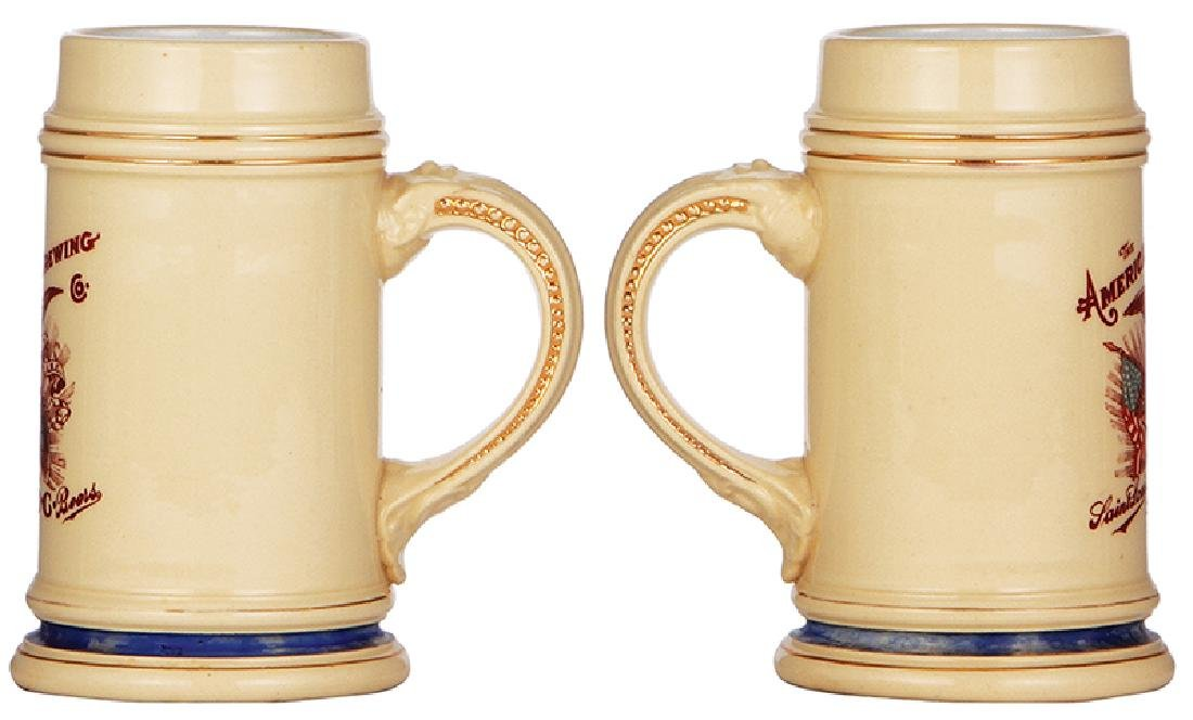 Pottery stein, The American Brewing Co. - 2