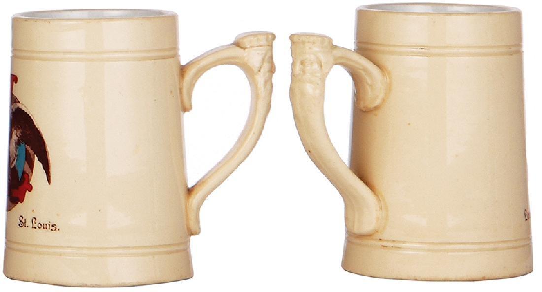 Pottery stein, Louis Obert - 2