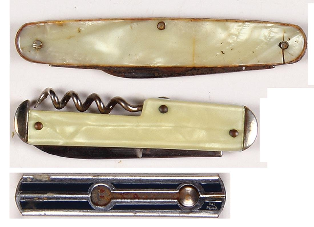 Three brewery knives - 2
