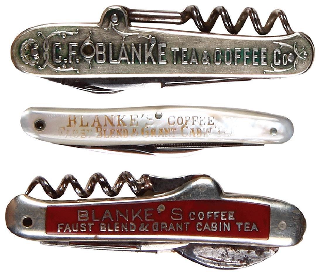 Three C.F. Blanke knives
