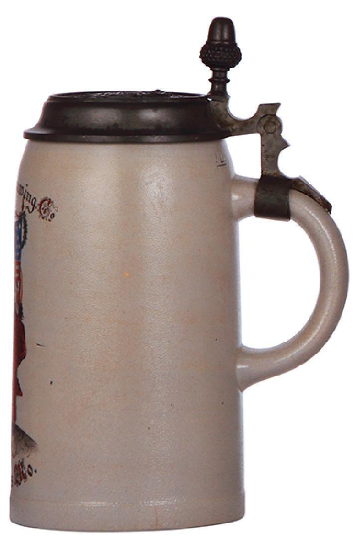 Stoneware stein, Columbia Brewing - 2
