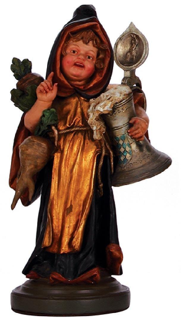 Terra cotta figurine, Mnchener Kindl