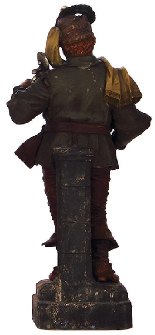 Terra cotta figurine, Landsknecht - 2