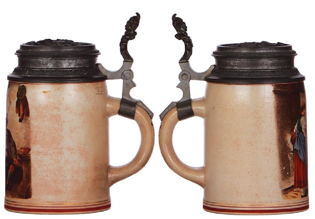 Two stoneware stein - 2