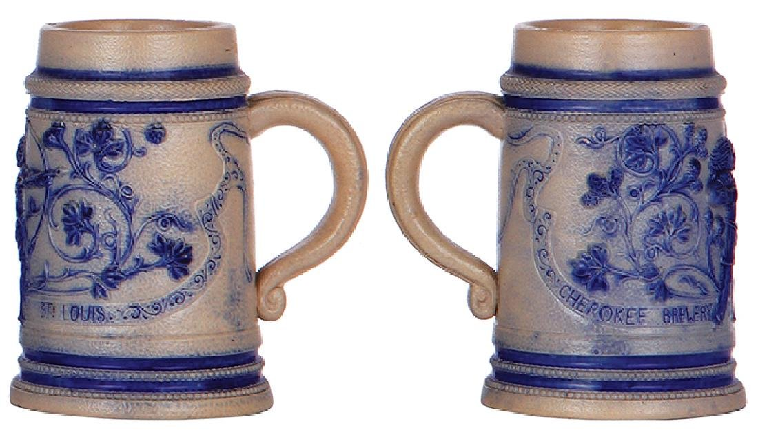 Two stoneware mugsCherokee Brewery - 3