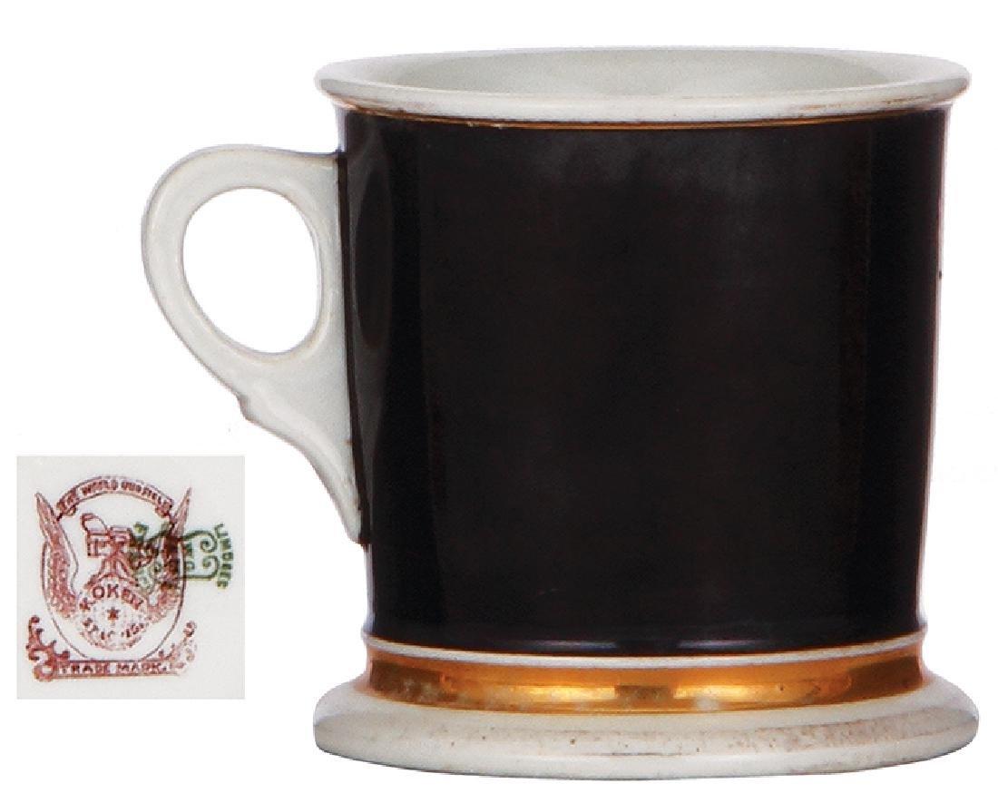 Porcelain shaving mug - 2