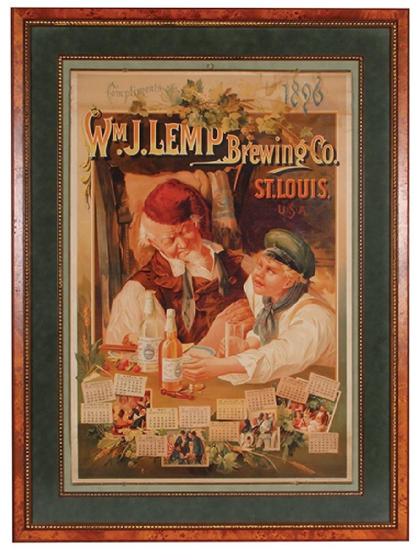 Lemp Brewing Co. St. Louis Lithograph