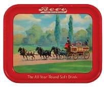 Bevo advertising tray