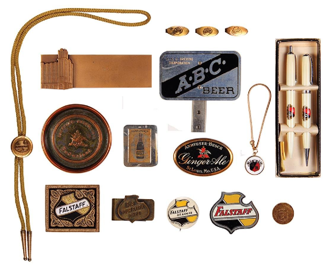 Sixteen items, Anheuser-Busch