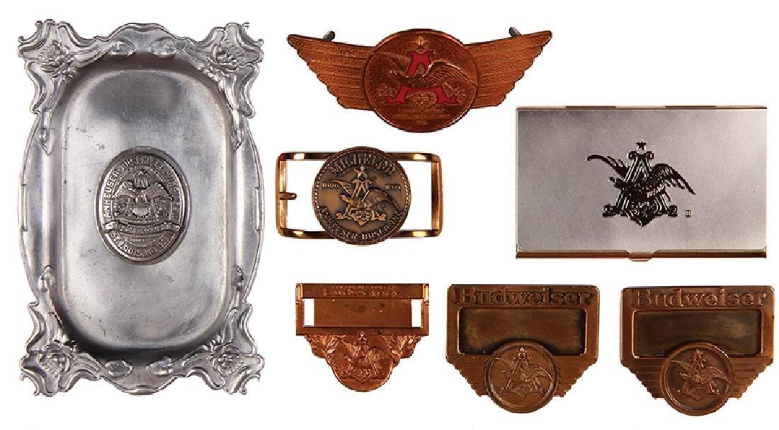 Seven Anheuser-Busch items