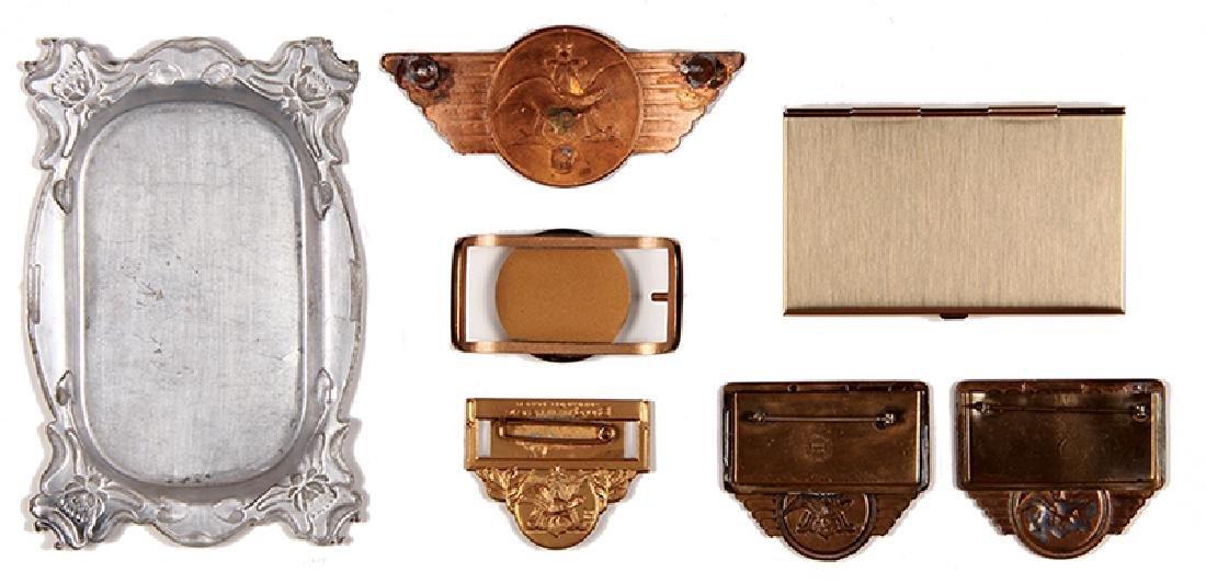 Seven Anheuser-Busch items - 2